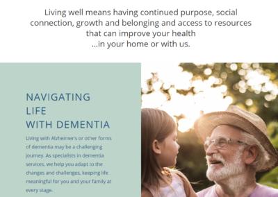 Livewell nonprofit web design